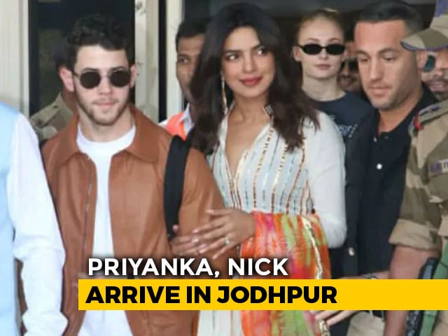 And So It Begins. Priyanka Chopra, Nick Jonas And Families Arrive In Jodhpur