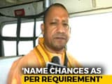 "Video : ""Did What Felt Right, Will Keep It Up"": Yogi Adityanath On Renaming Spree"