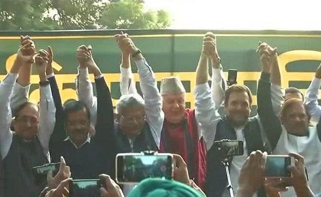 Rahul Gandhi, Arvind Kejriwal Address Farmers' Mega Rally In Delhi: Live Updates