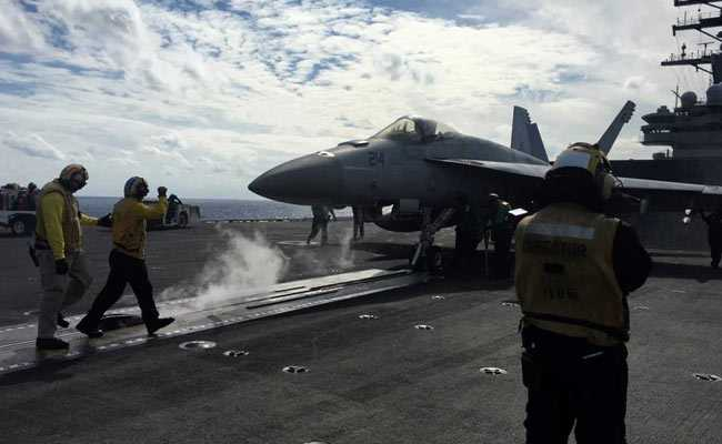 Nuclear-Powered US Carrier Leads Biggest Combat Exercise In Japan