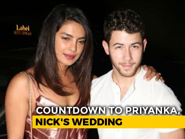 Video : Priyanka Chopra & Nick Jonas' Pre-Wedding Festivities