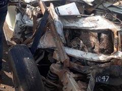 6 Children, Driver Killed In Bus-School Van Collision In Madhya Pradesh