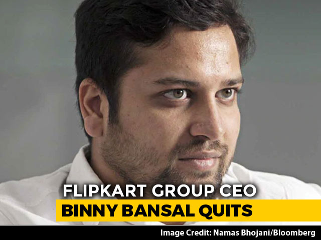 Video : Allegations Left Me Stunned, Flipkart's Binny Bansal Told Staff In Email