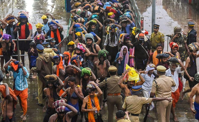 Ahead Of Big Sabarimala Festival Today, Prohibitory Orders Extended