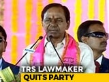 Video : Key Leader From KCR's Party Quits, Sends 3-Page Criticism