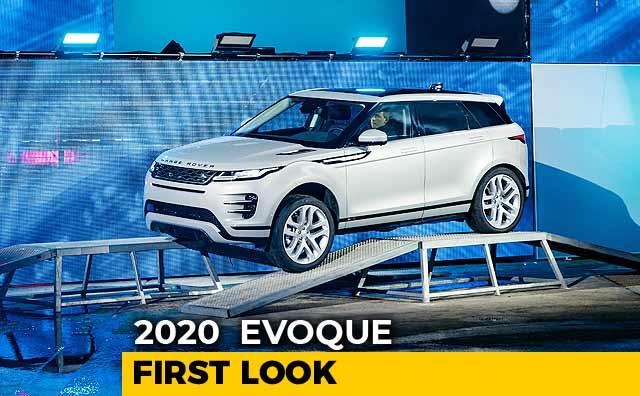 2020 Range Rover Evoque First Look