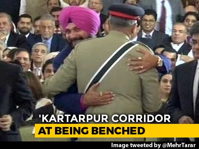 "Video : ""1-Second Hug, Not Rafale Deal"": Navjot Sidhu On Embracing Pak Army Chief"