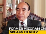 "Video : ""Won't Align With BJP In Mizoram"": Mizo National Front Chief Zoramthanga"