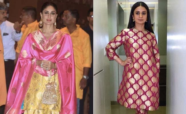 Trend Alert: 3 Ways To Wear Brocade Like Kareena Kapoor And Rasika Dugal