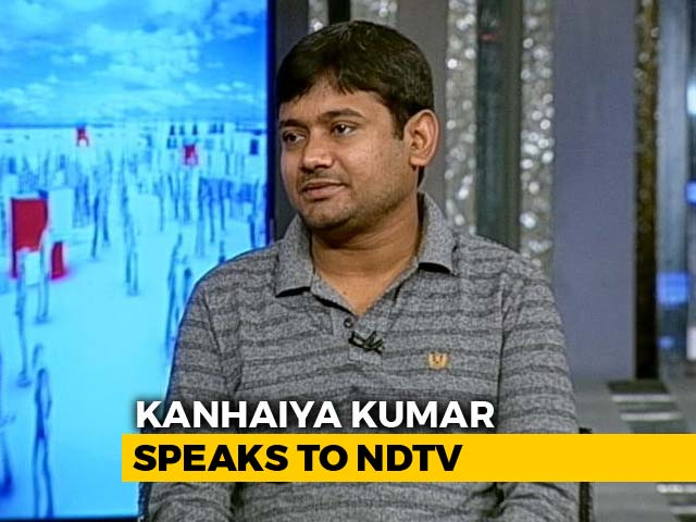 Video : When PM Can't Win With His Work, He Remembers Lord Ram: Kanhaiya Kumar