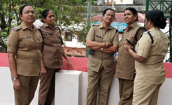 'We Have A Job To Do,' Say Women Cops, Above 50, Posted At Sabarimala