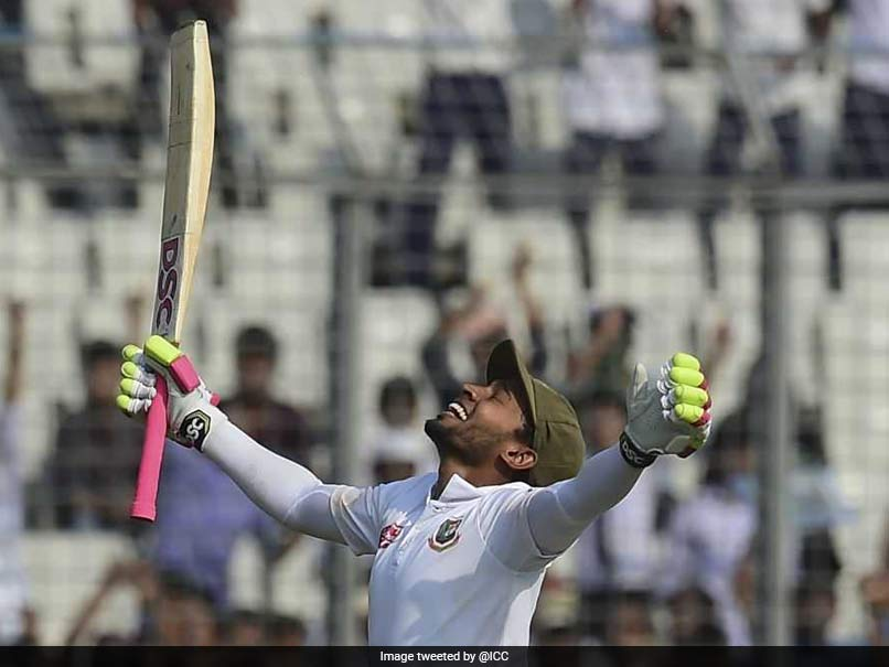 2nd Test, Day 2: Mushfiqur Rahim
