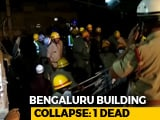Video : Man Killed In Bengaluru Building Collapse, Rescuers Look For Survivors