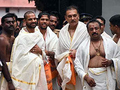 India vs West Indies: Shikhar Dhawan, Ravi Shastri, Umesh Yadav Visit Sree Padmanabhaswamy Temple Ahead Of Fifth ODI