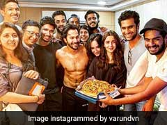 <I>Kalank</I>: Varun Dhawan Announces 'Crazy' Schedule Wrap, Shares Pics With Alia Bhatt And Others