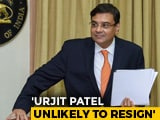 Video : Centre-RBI Solution Before Meet, Urjit Patel Unlikely To Quit: Sources