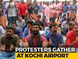 Video : Trupti Desai, Heading To Sabarimala, Blocked By Protests At Kochi Airport