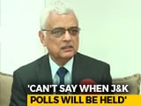 "Video : ""They Blame EVMs When They Lose"": Chief Election Commissioner OP Rawat"