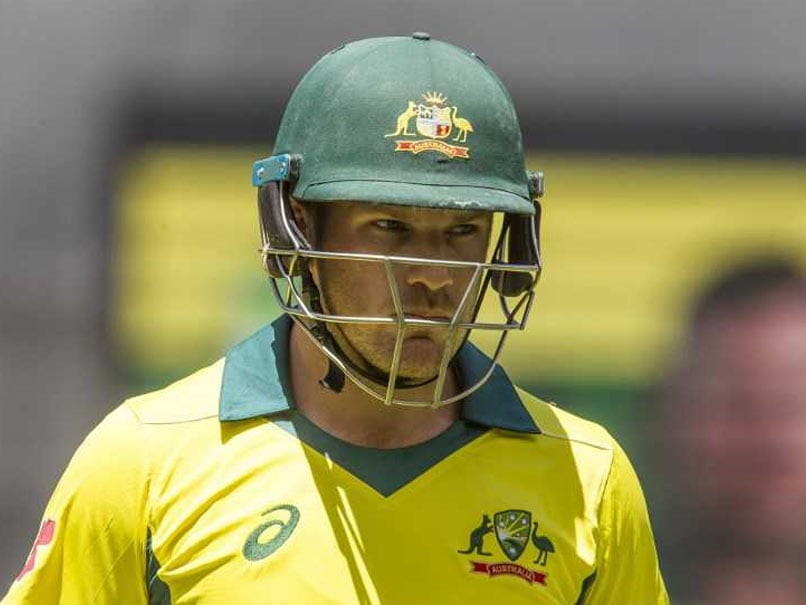 Aaron Finch Warns Faltering Australian Batsmen Of Shake-Up For India ODIs