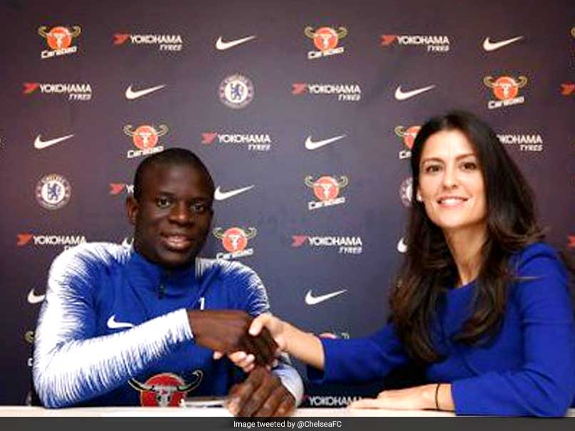 NGolo Kante Signs New Five-Year Deal At Chelsea