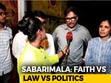Video : Sabarimala Hijacked By Politics?