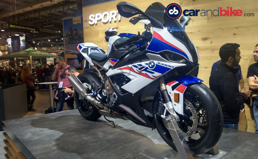 eicma 2018: 2019 bmw s 1000 rr breaks cover - ndtv carandbike