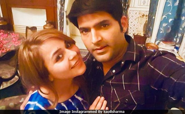 Image result for kapil sharma and ginni