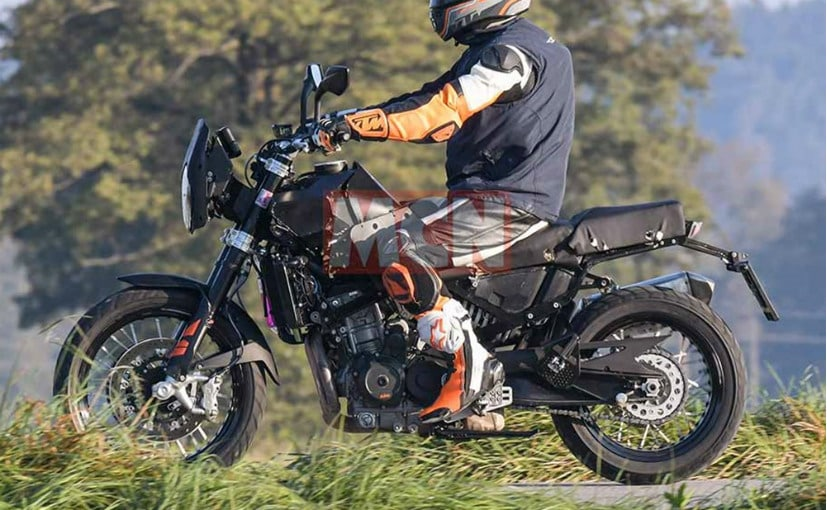 All-New Husqvarna Adventure Bike Spied Testing - CarandBike