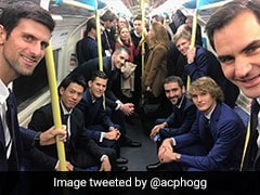 Watch: Roger Federer, Novak Djokovic And Other Tennis Stars Take London Tube; Video Goes Viral