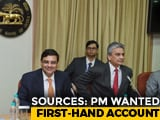 "Video : PM Modi Met RBI Chief For ""First-Hand Account"" Amid Rift: Sources"
