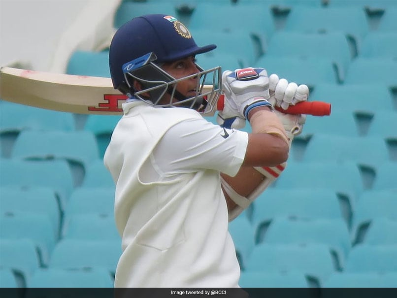 India vs Australia: Prithvi Shaw Slams Quickfire 66, Starts Australia Tour With A Bang - Watch