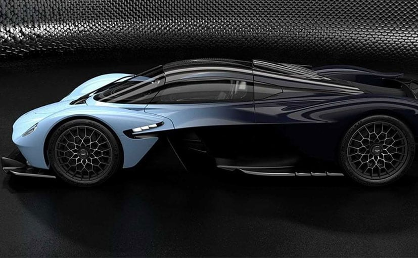 Aston Martin Valkyrie Hypercar Revealed In Official Images Ndtv
