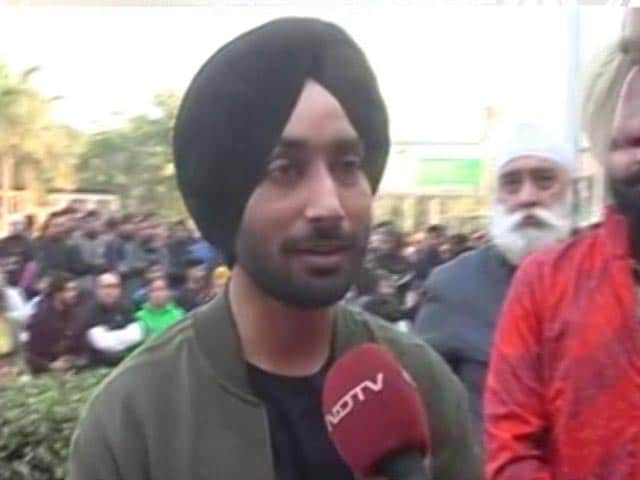 Video : Rajpal Singh, Singer Sartaj Lend Their Support To Organ Donation In Mohali
