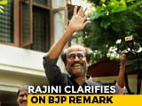 "Video : ""Is BJP A Dangerous Party?"" Rajinikanth's Baffling Reply To Reporter"