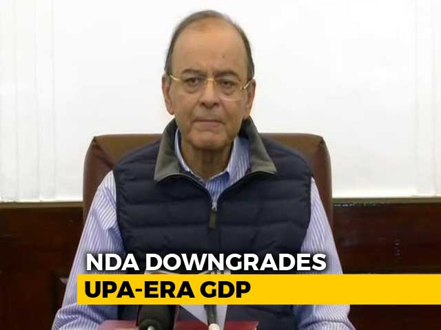 Video : New GDP Data More Realistic, Says Government Amid Congress Charges