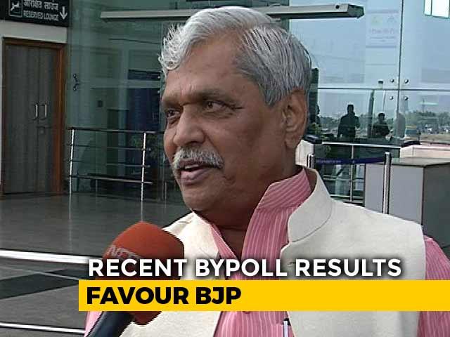 Video : Madhya Pradesh Congress Like An Orange, Divided Within: BJP's Prabhat Jha