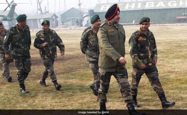 Be Prepared To Meet Security Challenges In Kashmir: Army Commander