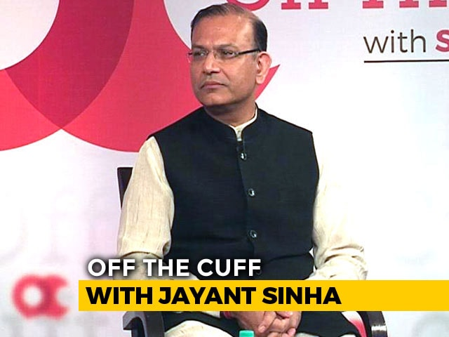 Video : I'm Against Violence, Vigilantism: Union Minister Jayant Sinha