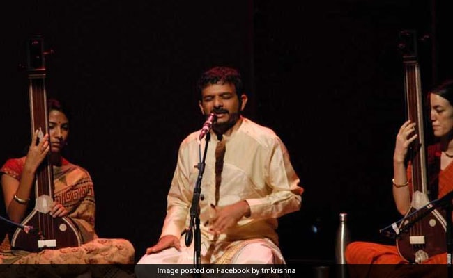 TM Krishna's Concert, Postponed Earlier, Back On, With Help From AAP
