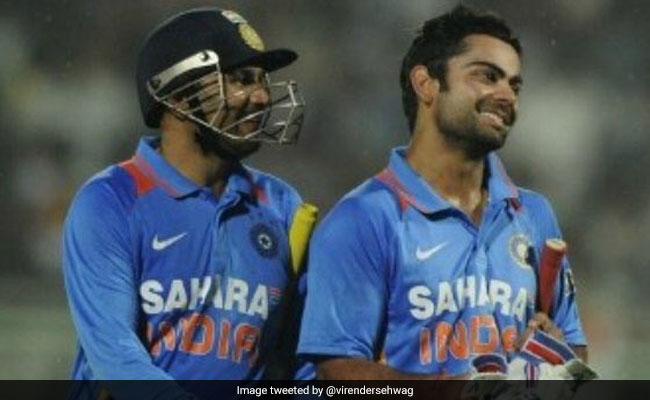 Virender Sehwag's Hilarious Birthday Wish For Virat Kohli Has Twitter Laughing