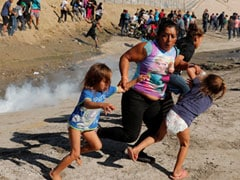 """""""There Were Children,"""" Says Migrant Mother Tear-Gassed At US Border"""