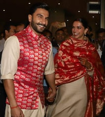 Deepika, Ranveer Touch Down In Mumbai After Italy Wedding. See Pics