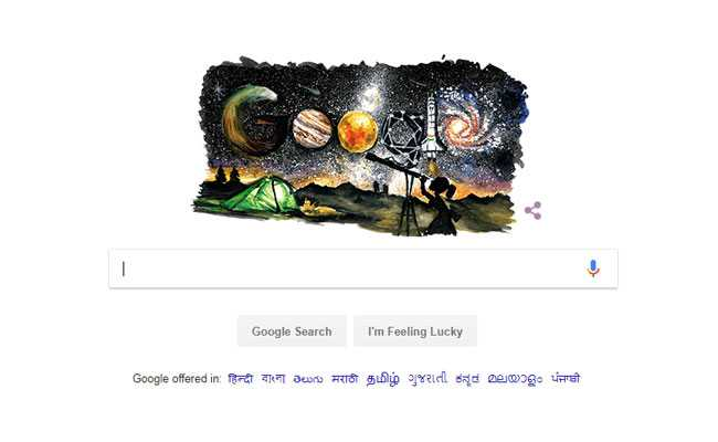 Google Celebrates Children's Day With Doodle On Space Exploration