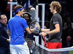 Alexander Zverev Shocks Roger Federer To Reach Final Of ATP Finals