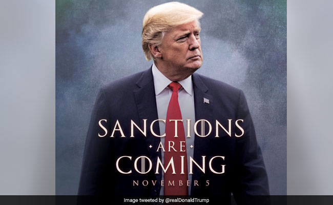 Trump's 'Game Of Thrones Style' Announcement For Iran Sanctions