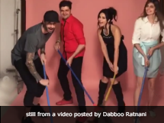 Meet The 'Best Cleaning Crew in Town'-Sunny Leone And Daniel Weber