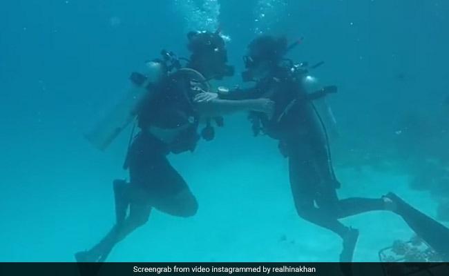 Video: बॉयफ्रेंड के साथ मालदीव पहुंचीं 'कसौटी जिंदगी...' की कोमोलिका, अंडर वाटर किया यह कारनामा