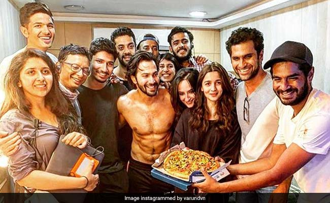 Kalank: Varun Dhawan Announces 'Crazy' Schedule Wrap, Shares Pics With Alia Bhatt And Others