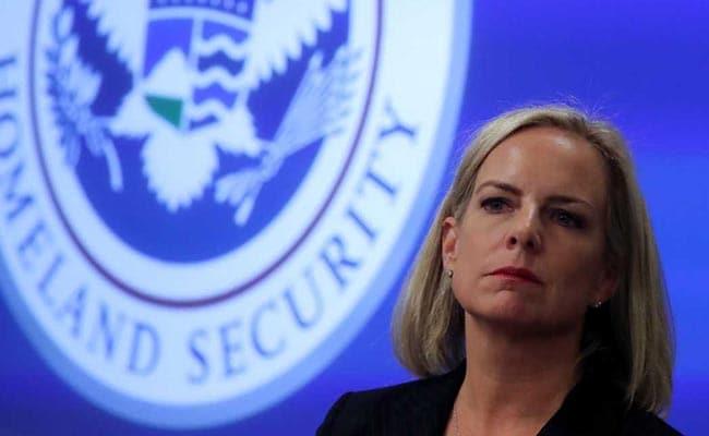 US Homeland Security Chief Kirstjen Nielsen 'Leaving Her Position': Trump