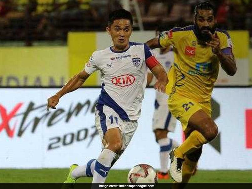 Sunil Chhetri Strikes As Bengaluru FC Beat Kerala Blasters In ISL Tie